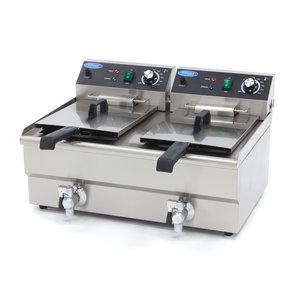 Maxima Deep Fryer 2 x 13L - with Faucet