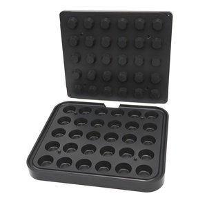 Maxima Tartlet Mould - Round - 44/32 mm - 30 pieces