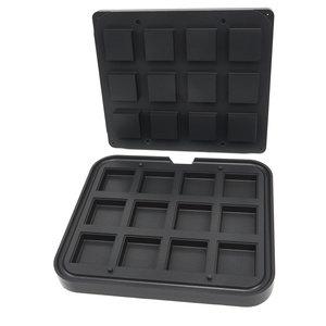 Maxima Tartlet Mould - Square - 72/62 mm - 12 pieces