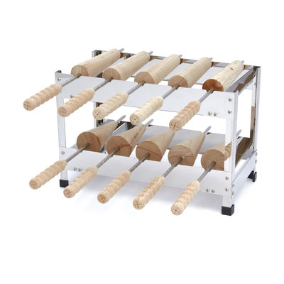 Maxima Chimney Cake Roller Standaard - Horizontaal