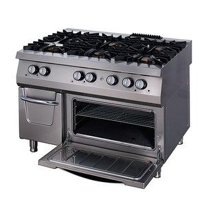 Maxima Premium Gas Stove - 6 Burners - Including Electric Oven