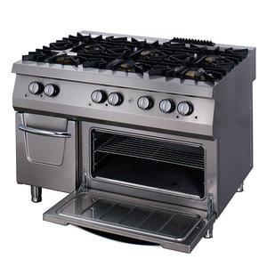 Maxima Premium Stove - 6 Burners - Including Oven - Gas