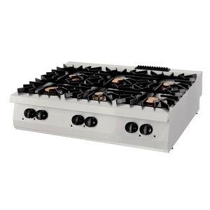 Maxima Premium Kookplaat - 6 Pitten - Gas