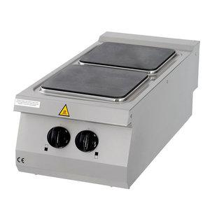 Maxima Premium Kookplaat - 2 Pitten - Elektrisch