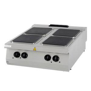 Maxima Premium Kookplaat - 4 Pitten - Elektrisch