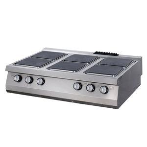 Maxima Premium Kookplaat - 6 Pitten - Elektrisch