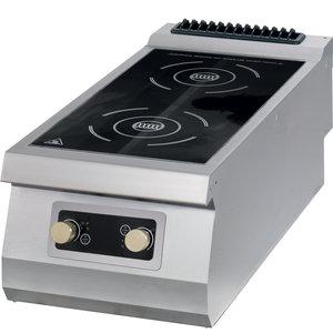 Maxima Premium Inductieplaat - 2 Pitten - Elektrisch