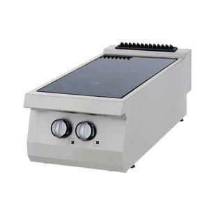Maxima Premium Infrarood Kookplaat - 2 Pitten - Elektrisch