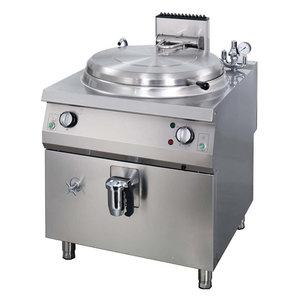 Maxima Premium Boiling pan 100L - Gas - Indirect