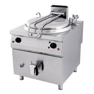 Maxima Premium Boiling pan 150L - Gas - Indirect
