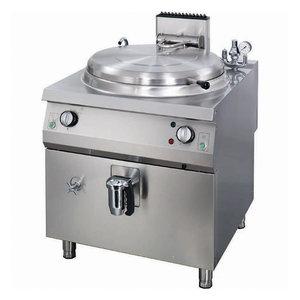 Maxima Premium Boiling pan 250L - Gas - Direct