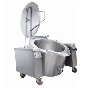 Maxima Tilting Boiling Pan 100L - Gas - Indirect