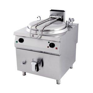 Maxima Premium Boiling pan 100L - Electric - Indirect
