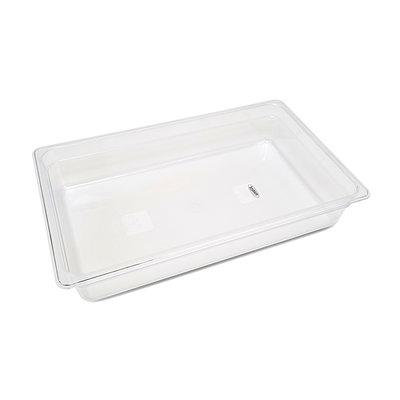Maxima Gastronorm Bak Polycarbonaat 1/1 GN | 100mm | 530x325mm