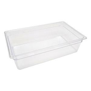 Maxima Gastronorm Container 1/1 GN - 15cm Deep - 53 x 32,5 cm - Polycarbonate