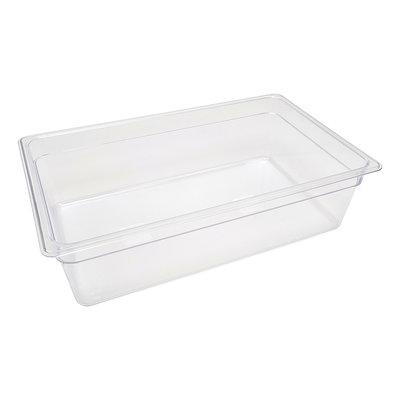 Maxima Gastronorm Bak Polycarbonaat 1/1 GN | 150mm | 530x325mm
