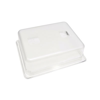 Maxima Gastronorm Bak Polycarbonaat 1/2 GN   100mm   325x265mm