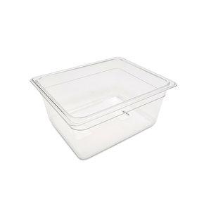 Maxima Gastronorm Container 1/2 GN - 15cm Deep - 32,5 x 26,5 cm - Polycarbonate