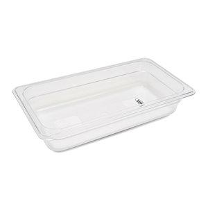 Maxima Gastronorm Container 1/3 GN - 6,5cm Deep - 32,5 x 17,6 cm - Polycarbonate