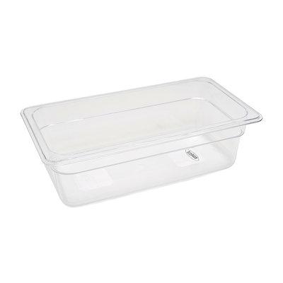 Maxima Gastronorm Bak Polycarbonaat 1/3 GN   100mm   325x176mm