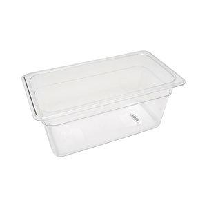 Maxima Gastronorm Container 1/3 GN - 15cm Deep - 32,5 x 17,6 cm - Polycarbonate