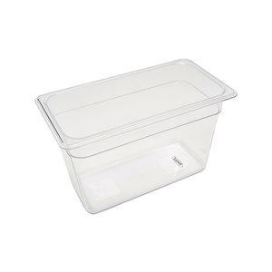 Maxima Gastronorm Container 1/3 GN - 20cm Deep - 32,5 x 17,6 cm - Polycarbonate