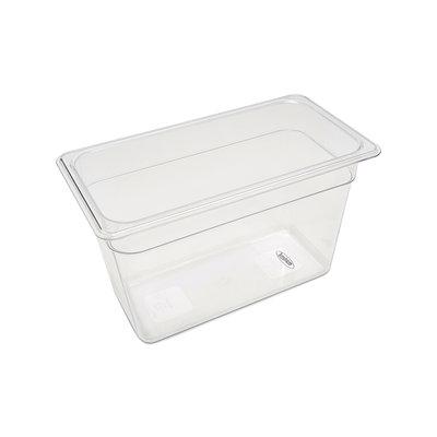 Maxima Gastronorm Bak Polycarbonaat 1/3 GN | 200mm | 325x176mm