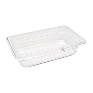 Maxima Gastronorm Container 1/4 GN - 6,5cm Deep - 26,5 x 16,2 cm - Polycarbonate