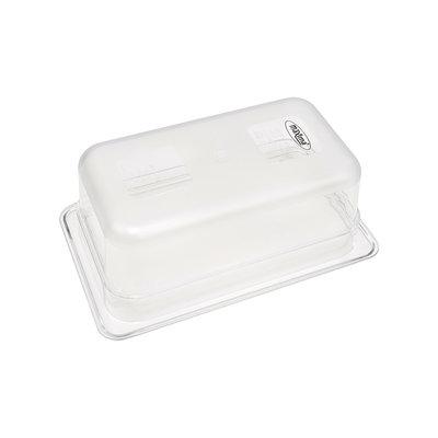 Maxima Gastronorm Bak Polycarbonaat 1/4 GN   100mm   265x162mm