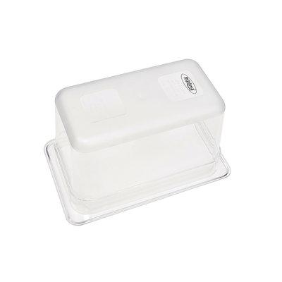 Maxima Gastronorm Bak Polycarbonaat 1/4 GN | 150mm | 265x162mm