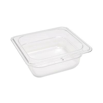 Maxima Gastronorm Bak Polycarbonaat 1/6 GN   65mm   176x162mm