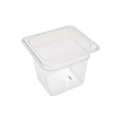 Maxima Gastronorm Bak Polycarbonaat 1/6 GN | 150mm | 176x162mm