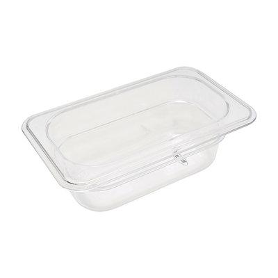 Maxima Gastronorm Bak Polycarbonaat 1/9 GN | 65mm | 176x108mm