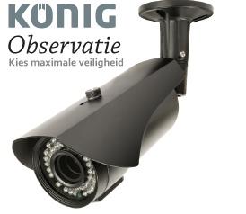 beveiligingscamera's, DVR, RG59-kabels, BNC-stekkers, Plug & Play IP-camera's, dashboardcamera's, dummycamera's, alarmsystemen, deur-/raamsensors, bewegingssensors, deurtelefoons, spionage-uitrusting, rookmelders, smart home, smart bewaking, domotica- en