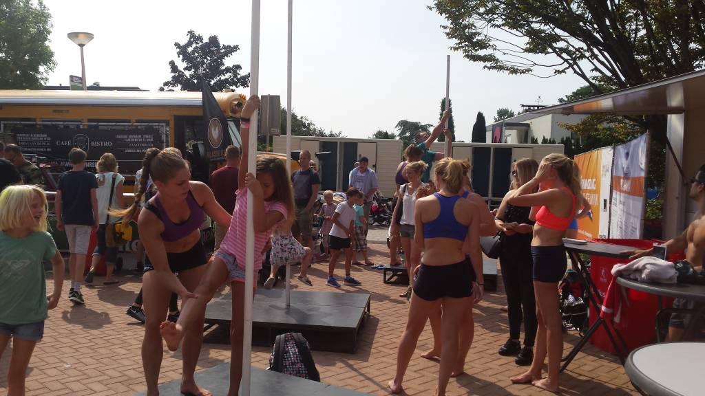 Pole fitness demo