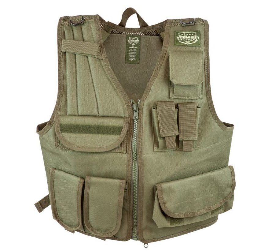Adjustable Tactical Vest (Olive)