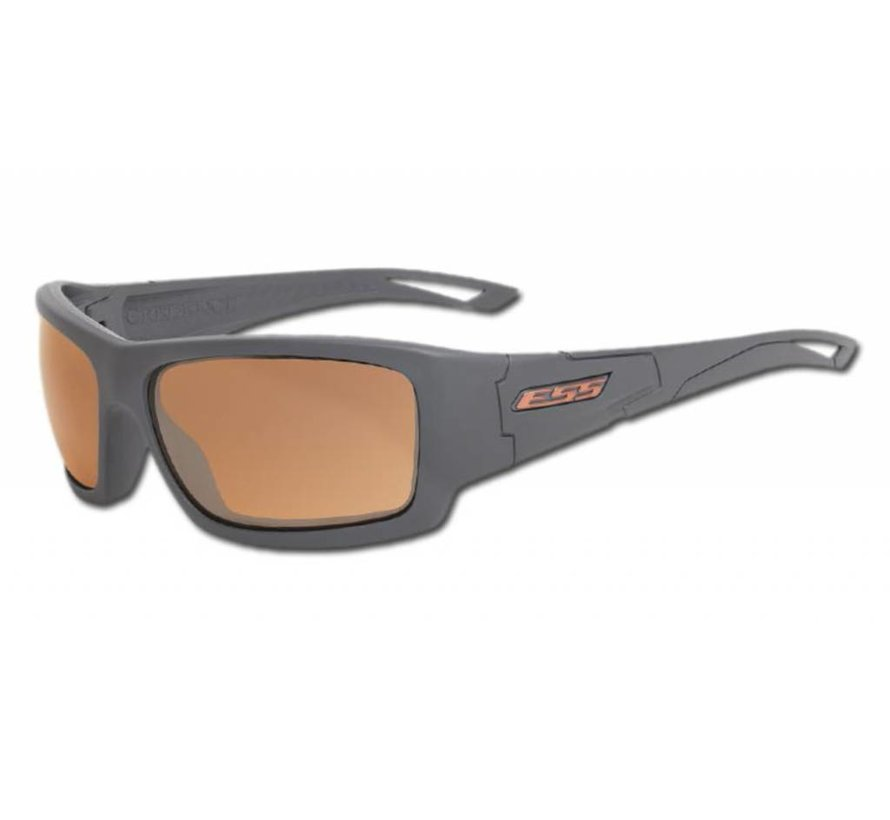 Credence (Gray Frame - Mirrored Copper Lenses)