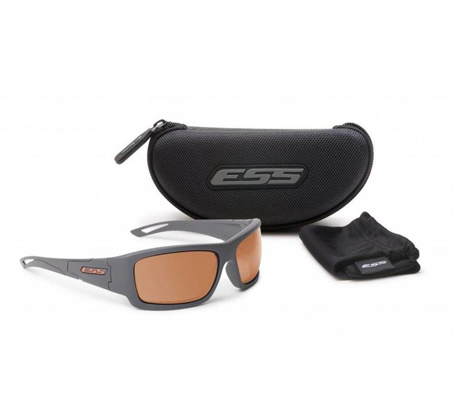 Credence (Gray Frame - Mirrored Copper Lenses)