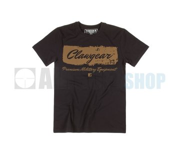 Claw Gear Handwritten Tee T-Shirt (Black)
