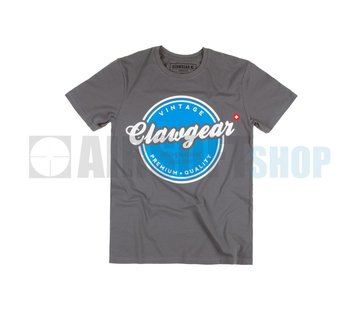 Claw Gear Vintage Tee T-Shirt (Grey)