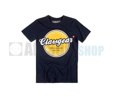 Claw Gear Vintage Tee T-Shirt (Navy)