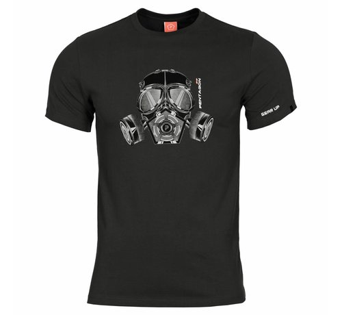 Pentagon Gas Mask T-Shirt (Black)