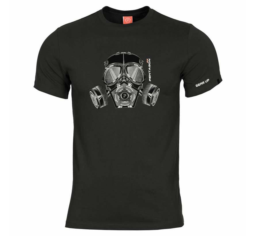 Gas Mask T-Shirt (Black)