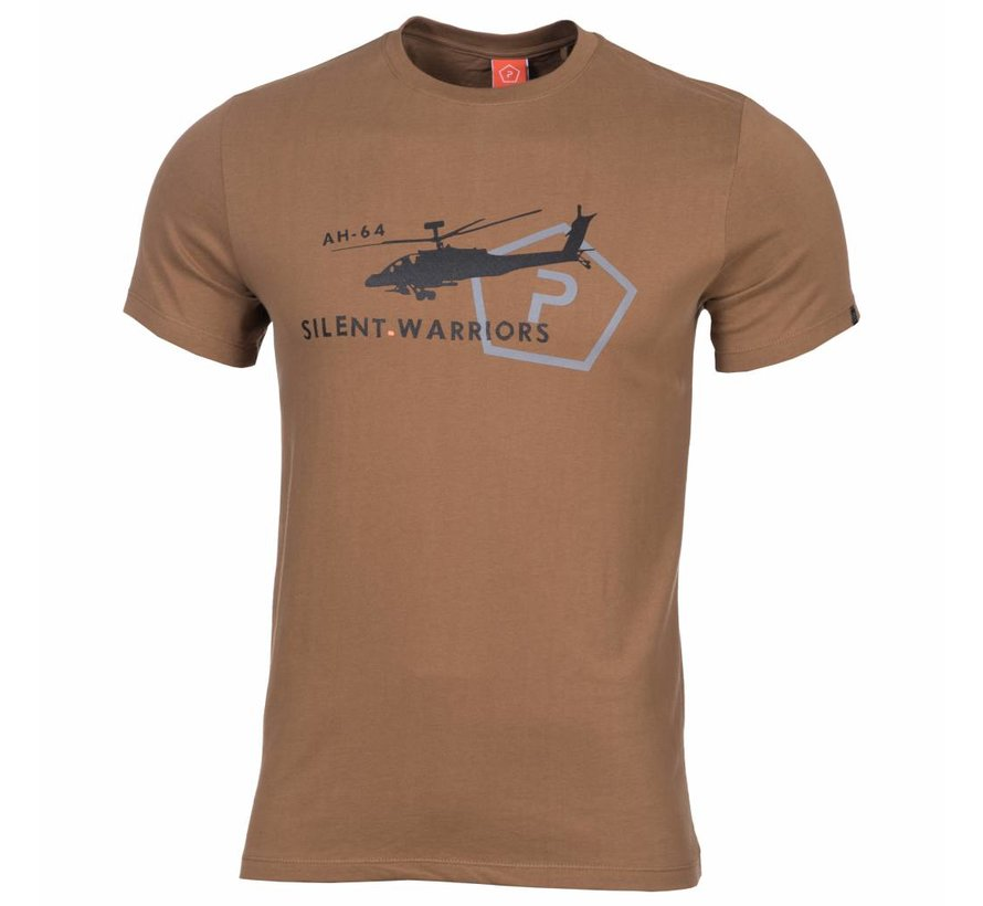 Helicopter T-Shirt (Coyote)