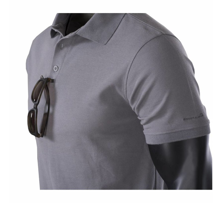 Aniketos Polo Shirt (Wolf Grey)