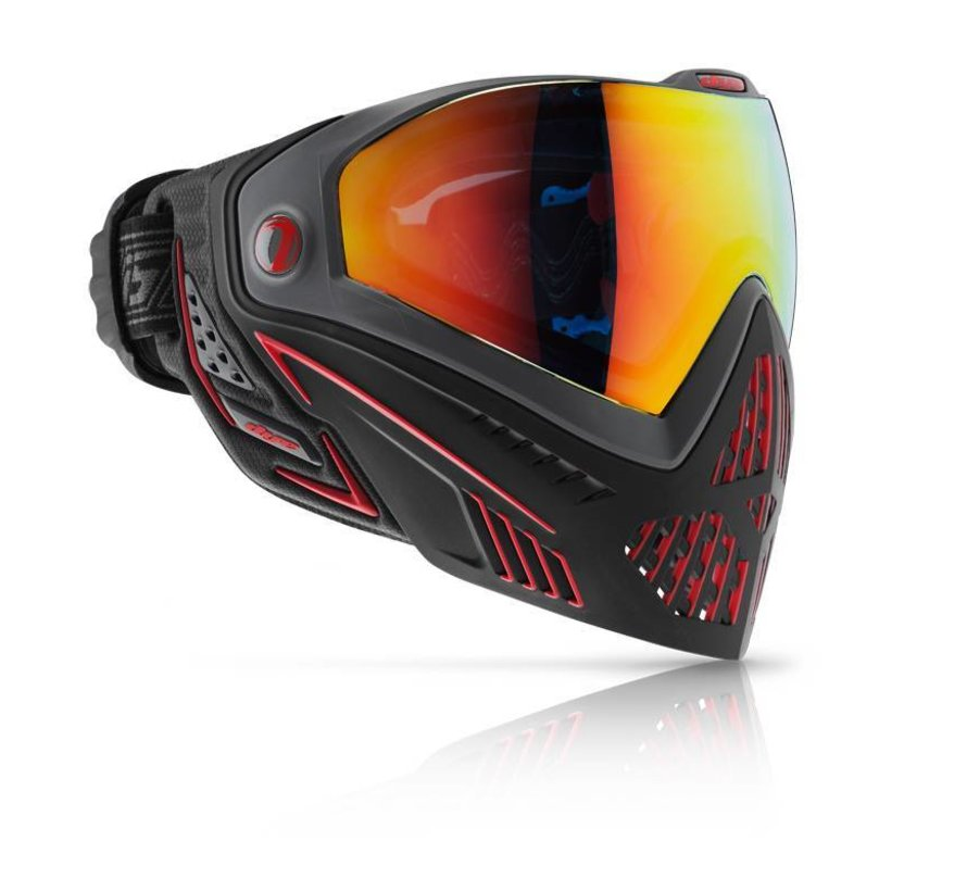 Goggle i5 FIRE Black/Red