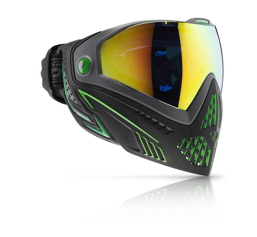 Goggle i5 EMERALD Black/Lime