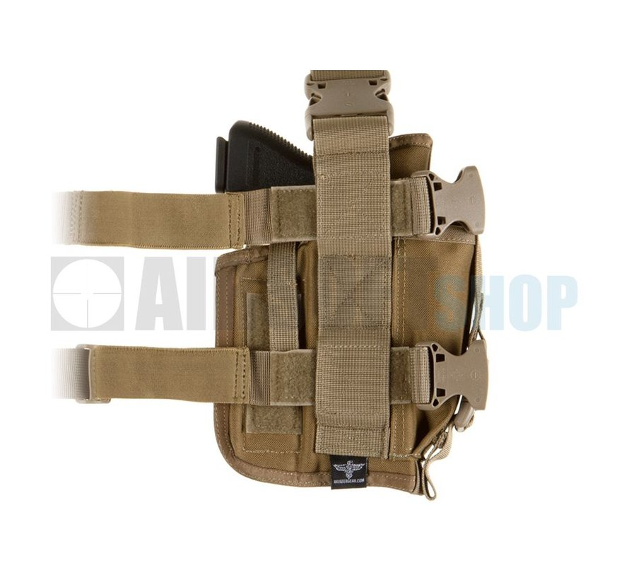 SOF Pistol Holster LEFT (Coyote Brown)