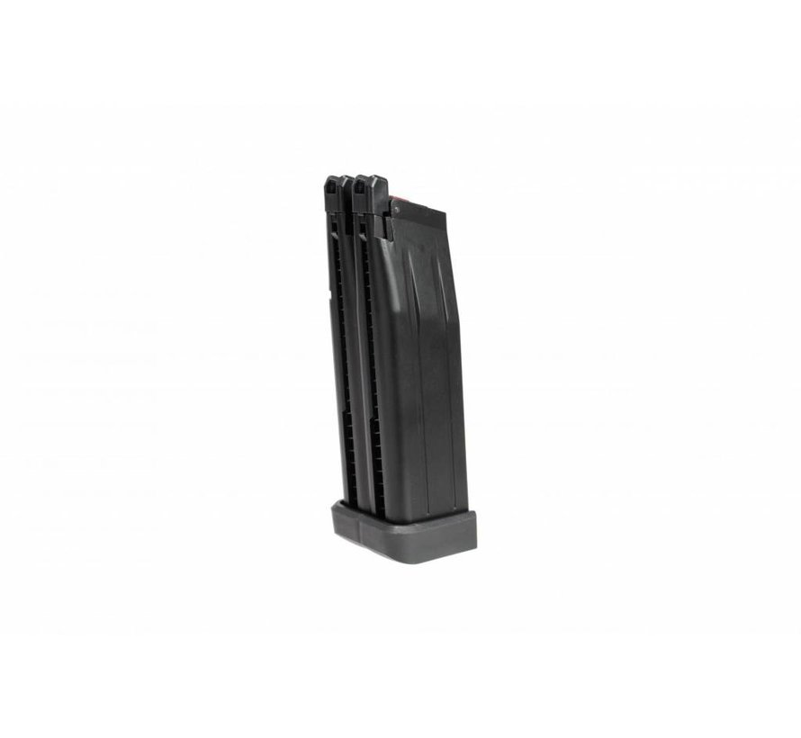 Hi-Capa 5.1 Double Barrel GBB Mag 60rds