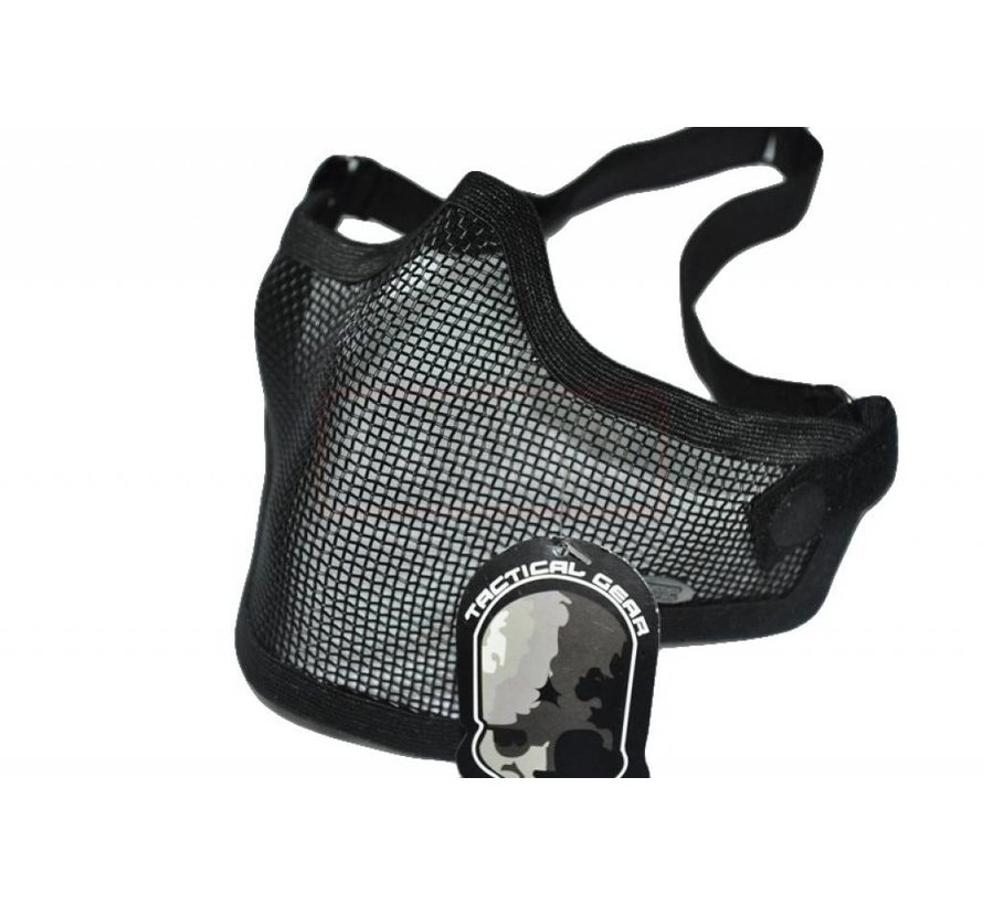 Half Face Mesh Mask (Black)